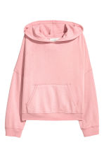 Hooded top - Light pink - Ladies | H&M CN 2